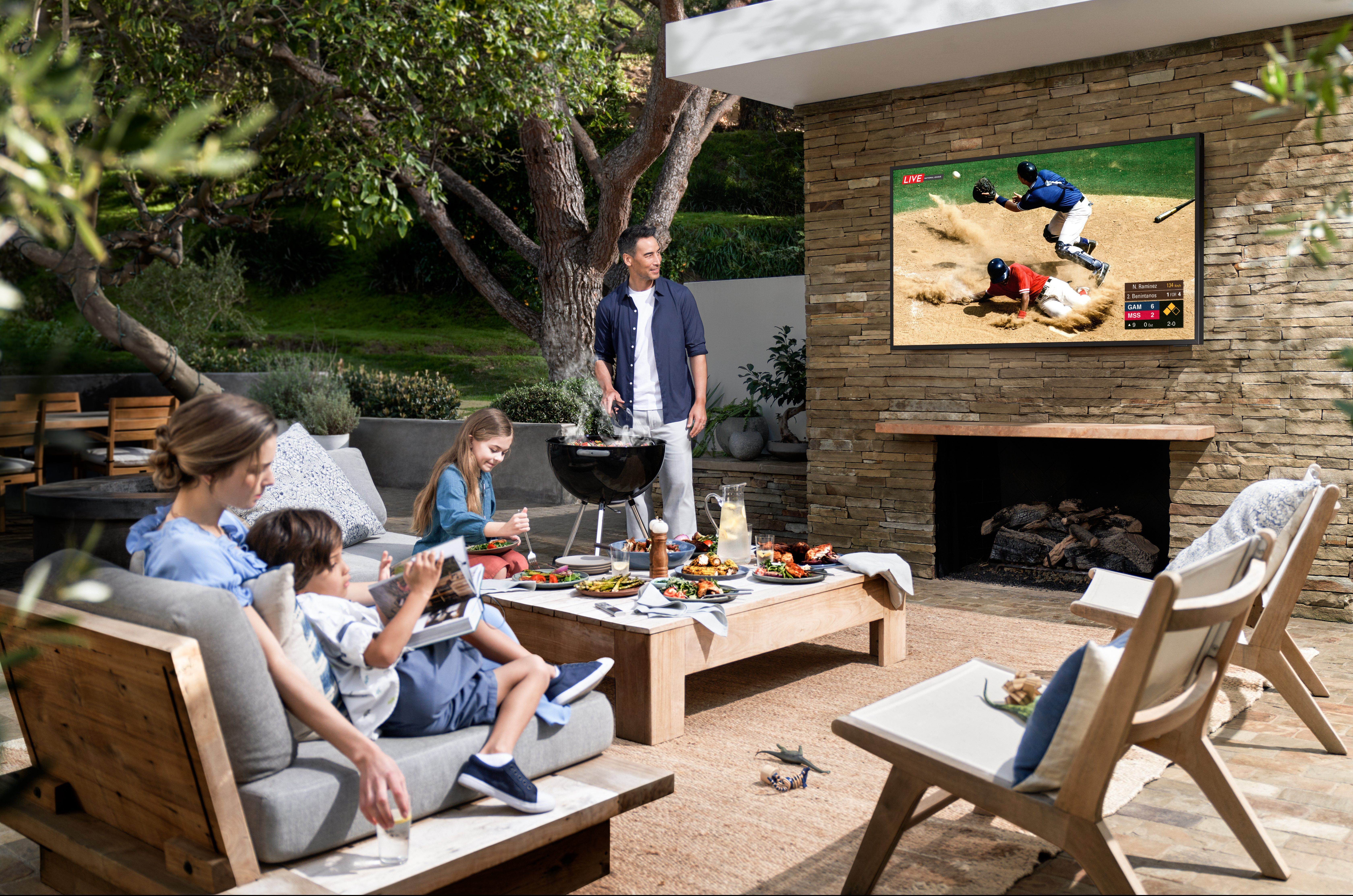 Enhance Your Backyard with an Outdoor TV Installation